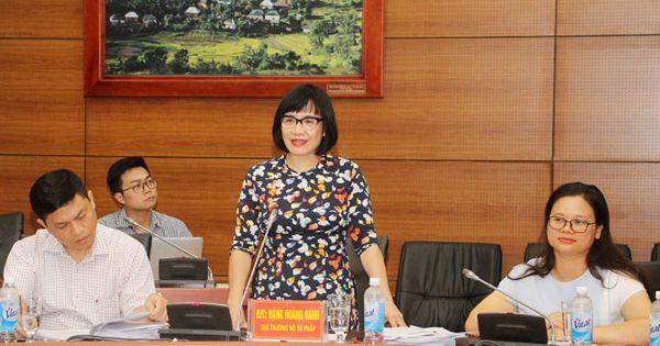 Thứ trưởng Đặng Hoàng Oanh kiểm tra công tác thi hành pháp luật tại Lào Cai