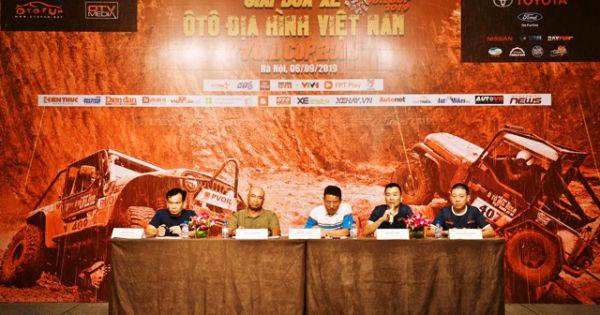 80 đội đua tranh Giải đua xe Ô tô Địa hình Việt Nam 2019