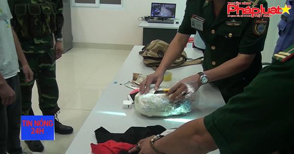 Đồn Biên phòng cửa khẩu Trà Lĩnh tóm gọn đối tượng vận chuyển Cocain sang Trung Quốc với số lượng lớn