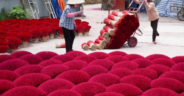 Rực rỡ làng hương Quảng Phú Cầu