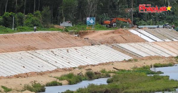Bình Định: Công trình kè chống sạt lở sông Kim Sơn không đảm bảo chất lượng