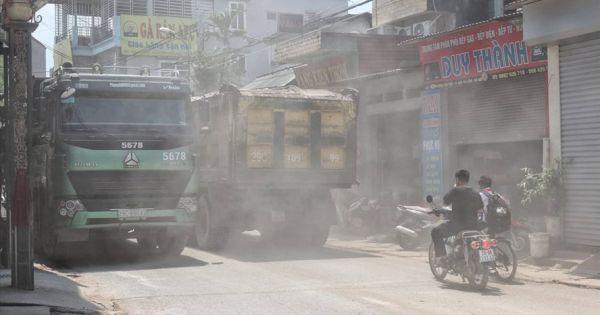 Hà Nội: Dân Tây Tựu khốn khổ vì xe quá tải rầm rập suốt ngày đêm