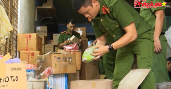 Đà Nẵng: Phát hiện kho hàng dược liệu, thực phẩm chức năng hết hạn