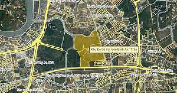 TPHCM: Đấu giá 6.000m2 đất trong dự án khu đô thị Sài Gòn Bình An