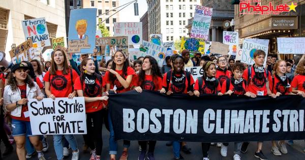 Tuần hành tại nhiều nơi trên Thế giới kêu gọi chống biến đổi khí hậu