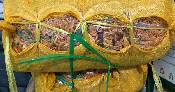 Quảng Bình: Tạm giữ gần 600 kg thịt bò, gà khô không rõ nguồn gốc
