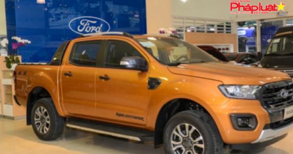 Ford triệu hồi gần 20.000 xe bán tải Ranger nguy cơ cháy do chập điện