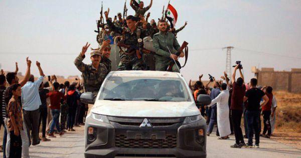 Quân đội Syria tiến vào Raqqa, hội quân cùng người Kurd