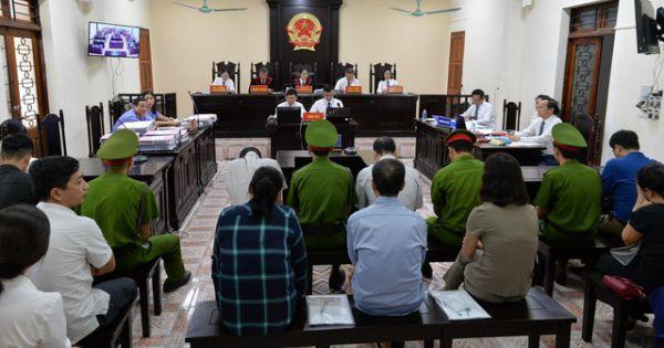 Bị cáo Nguyễn Thanh Hoài bị đề nghị mức án cao nhất 9 năm tù