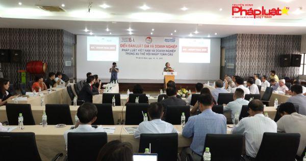 Hội thảo pháp luật VN và doanh nghiệp trong xu thế hội nhập toàn cầu