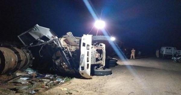 Kon Tum: Xe chở đá bị lật, 2 công nhân thủy điện Đắk Trưa 2 thiệt mạng