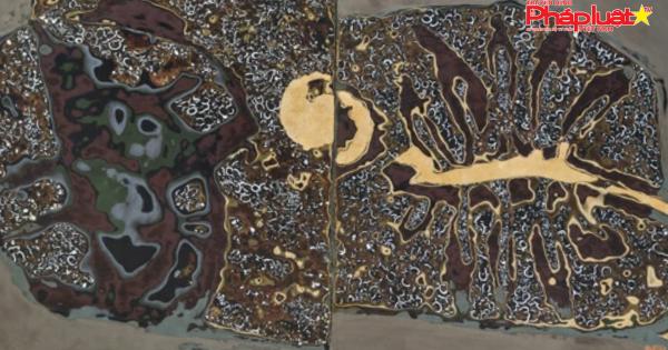 """68 tác phẩm biến hóa trong """"Hội hoạ sơn mài và điêu khắc quốc tế"""""""