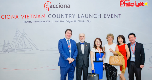 ACCIONA - giải pháp cơ sở hạ tầng và tái tạo năng lượng vào Việt Nam