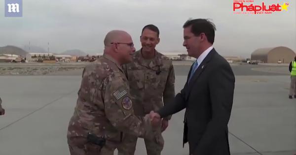 Bộ trưởng Quốc phòng Mỹ Mark Esper đến Iraq