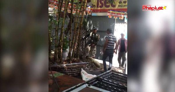 Đà Nẵng: Thuê vệ sĩ phong tỏa, lập hàng rào cưỡng chiếm đất người khác đang kinh doanh
