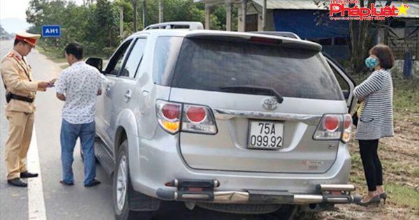 """Thừa Thiên-Huế xử phạt vi phạm giao thông """"từ xa"""""""