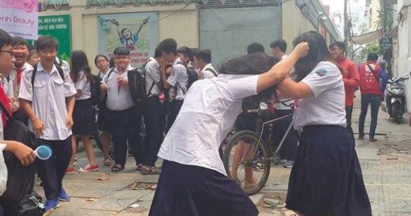 Sau vụ hai học sinh bị chém, TPHCM yêu cầu xử lý nghiêm học trò vi phạm