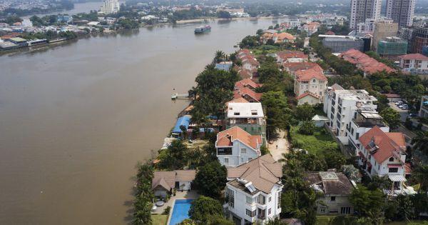 Kiên quyết xử lý biệt thự ở Thảo Điền chiếm bờ sông Sài Gòn