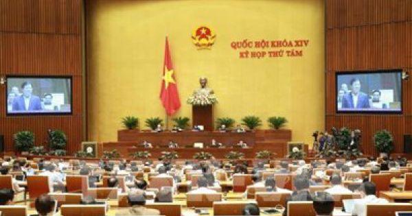 Quốc hội thông qua nghị quyết về kế hoạch phát triển kinh tế-xã hội năm 2020