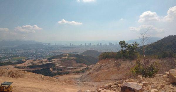 """Sau khi """"băm nát"""" núi Chín Khúc ở Nha Trang, chủ đầu tư trả lại 370ha dự án"""