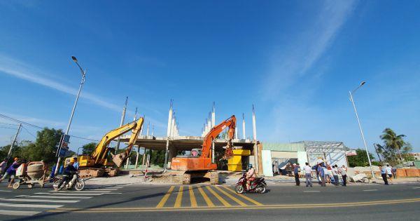 Phú Quốc: Thực hiện cưỡng chế xây dựng trái phép tại xã Dương Tơ