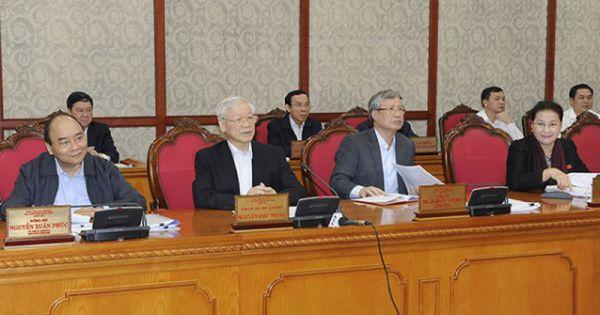Bộ Chính trị cho ý kiến về phát triển Thừa Thiên - Huế, thành phố Buôn Ma Thuột