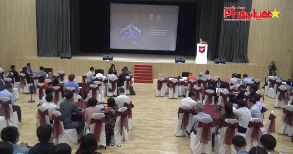 """TP HCM: Hội nghị quốc tế """"Dữ liệu tính toán và mạng xã hội"""" lần 8"""