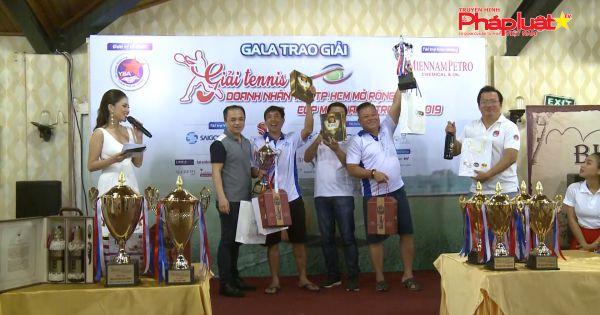 Giải tennis Doanh nhân Trẻ TP HCM mở rộng 2019 - Cup Miennampetro