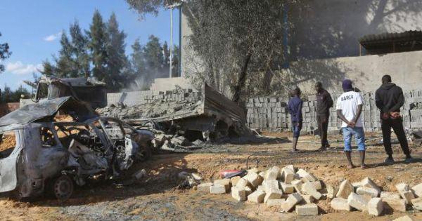 Libya: Nhà máy sản xuất bánh kẹo trúng tên lửa, 7 người thiệt mạng