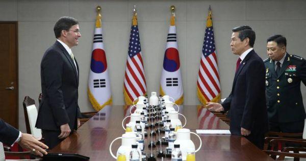 Mỹ, Hàn Quốc bất đồng về chi phí đồn trú