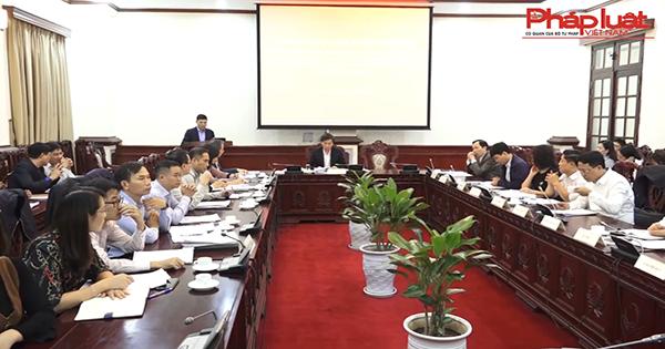 Tổ công tác của Thủ tướng Chính phủ làm việc với Bộ Tư pháp