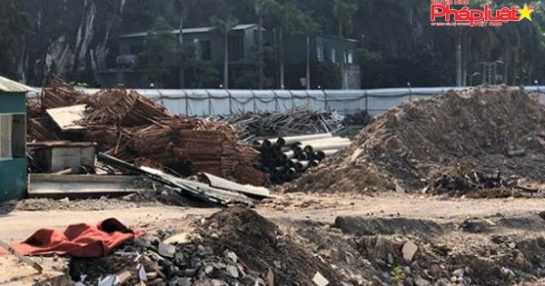 Quảng Ninh tạm dừng thi công công trình dự án khu vui chơi giải trí hồ Cô Tiên