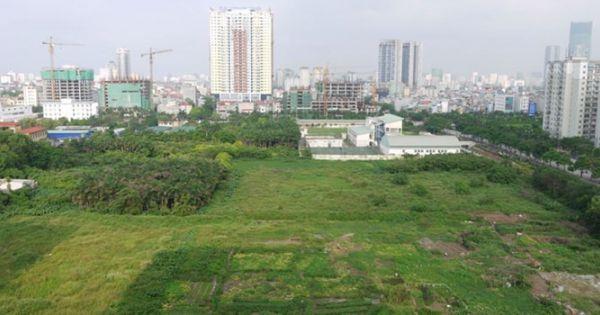 28 dự án chậm triển khai đã được Hà Nội thu hồi