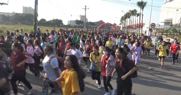 Hàng ngàn sinh viên tham dự giải Việt dã năm 2019