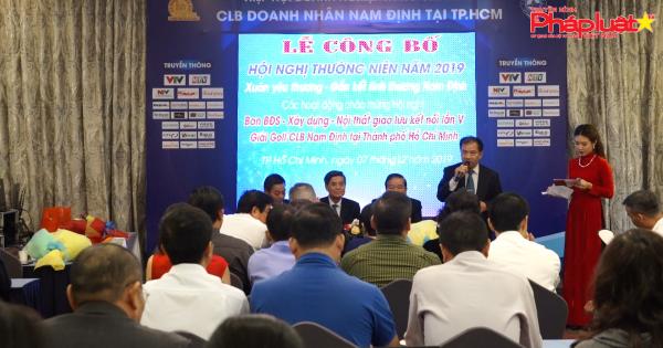 CLB Doanh nhân Nam Định tại TP HCM công bố chuỗi hoạt động dịp cuối năm