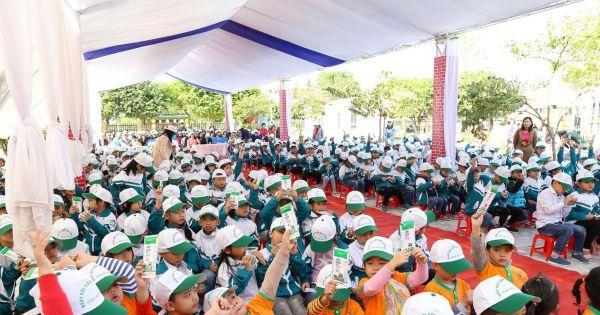 130.000 trẻ em mầm non và tiểu học Hà Nam thụ hưởng chương trình sữa học đường