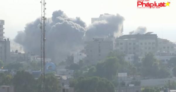 Israel không kích các địa điểm của Hamas tại Gaza