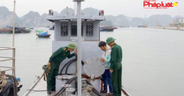 Hải Phòng: Tạm giữ tàu chở 20.000 lít dầu FO không rõ nguồn gốc