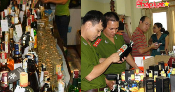 Gần 400 chai rượu ngoại không rõ nguồn gốc trong bar ở Đà Nẵng