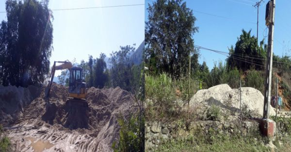 Tái diễn tình trạng khai thác khoáng sản trái phép ở Vị Xuyên, tỉnh Hà Giang