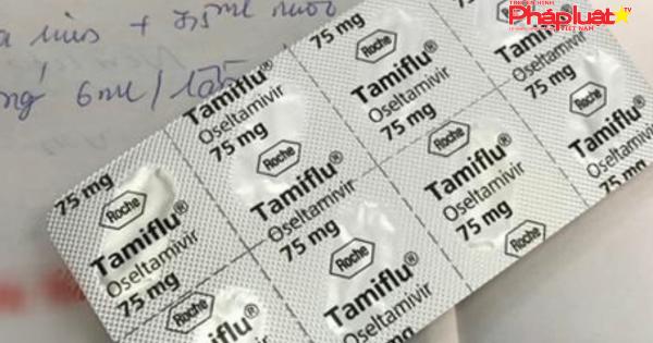 Khuyến cáo: Không phải cứ mắc cúm thì được uống Tamiflu
