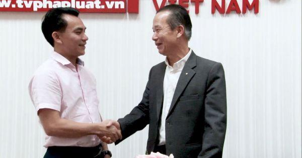 Nghị sỹ Đức gốc Việt Nguyễn Đắc Nghiệp đến thăm và chúc Tết Truyền Hình Báo Pháp Luật Việt Nam