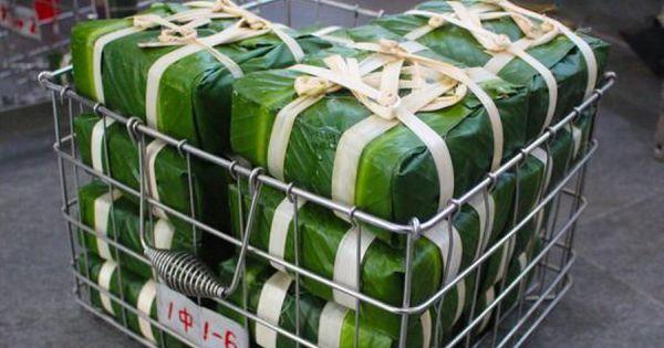 Độc đáo máy gói bánh chưng tự động ở Sài Gòn, mỗi phút làm ra một sản phẩm