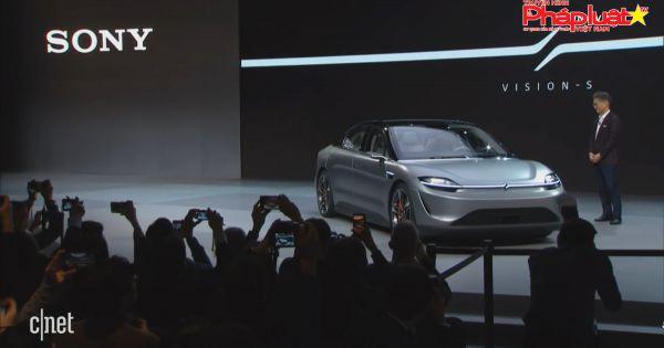 Sony ra mắt xe điện Vision-S