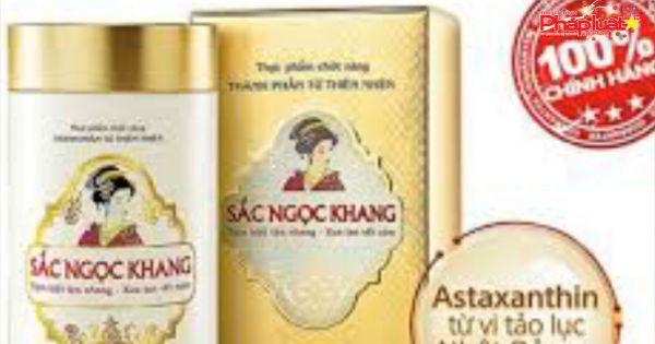 Thực phẩm bảo vệ sức khỏe Sắc Ngọc Khang bị yêu cầu dừng sản xuất