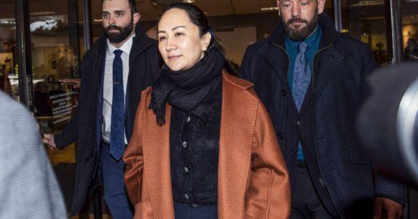 Canada mở phiên tòa xét xử giám đốc tài chính Huawei