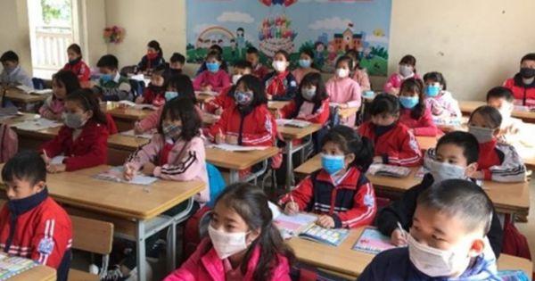 38 học sinh tại vùng dịch Vĩnh Phúc ho, sốt và khó thở
