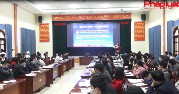 Sở y tế Vĩnh Phúc tổ chức tập huấn phòng chông dịch 2019-nCoV