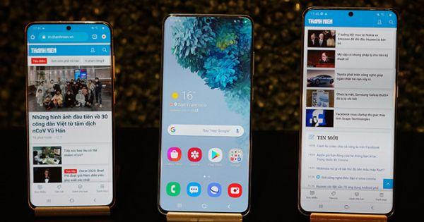 Galaxy S20 bán tại Việt Nam ngày 6.3 tới