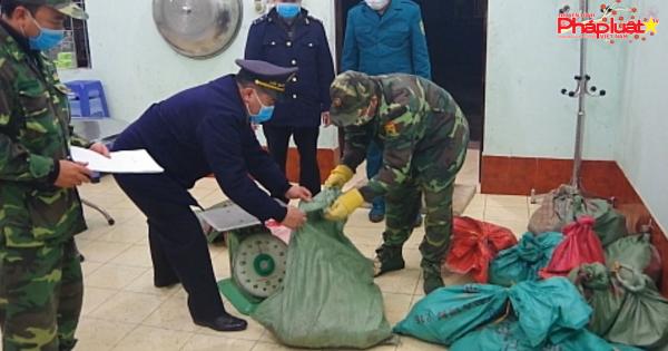 Hải quan Chi Ma (Lạng Sơn) thu giữ 300 kg thịt lợn không rõ nguồn gốc
